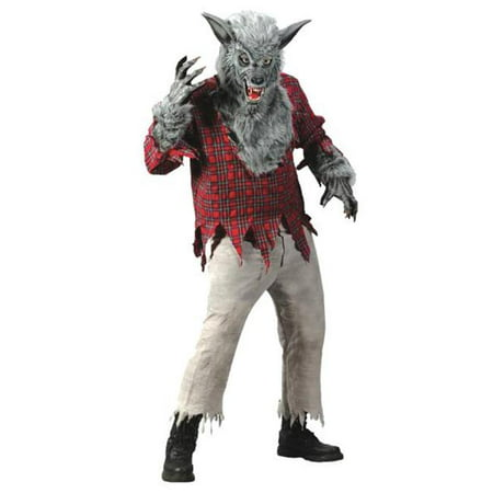 Costumes For All Occasions FW5409GY Grey Werewolf Adult (Werewolf Costumes For Men)
