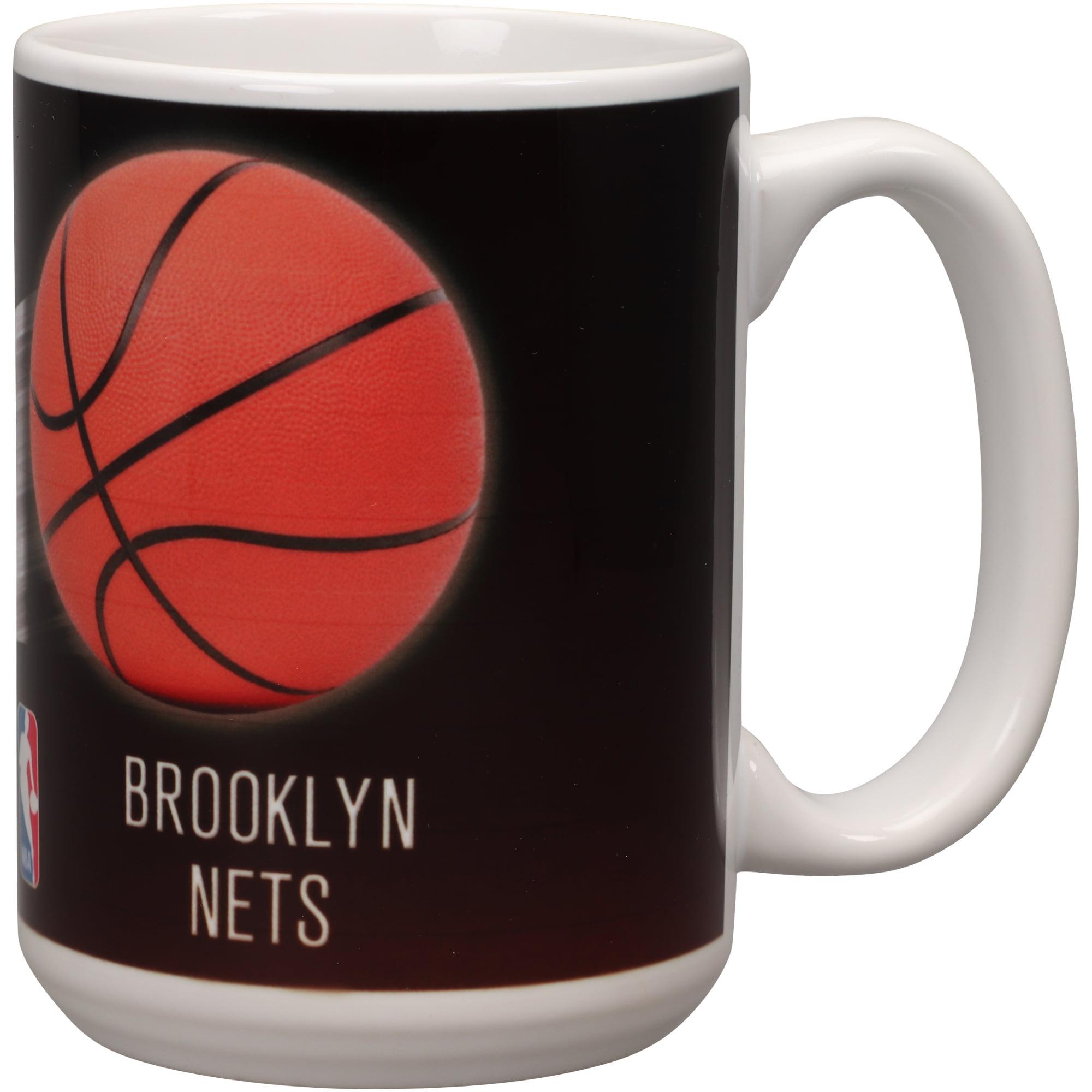 Brooklyn Nets 15oz. Team 3D Graphic Mug - No Size