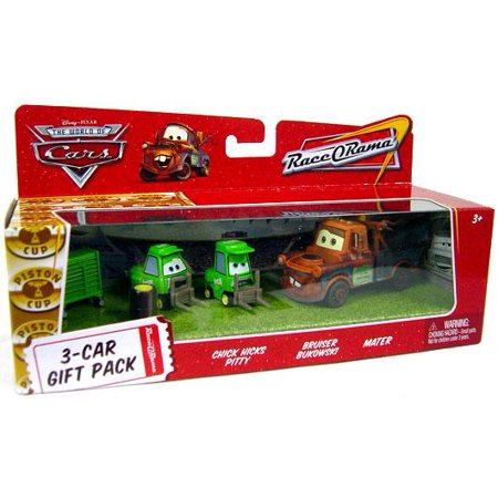 Disney Cars Multi-Packs Chick Hicks Crew 3-Car Gift Pack Diecast Car Set