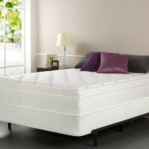 Alwyn Home Euro Top 13'' Firm Innerspring Mattress