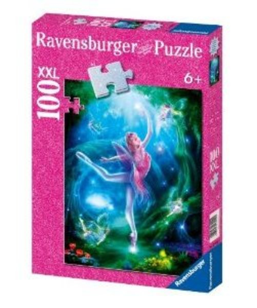 Ravensburger Ballet Lesson 100 Piece Glitter Puzzle Multi-Colored by Ravensburger
