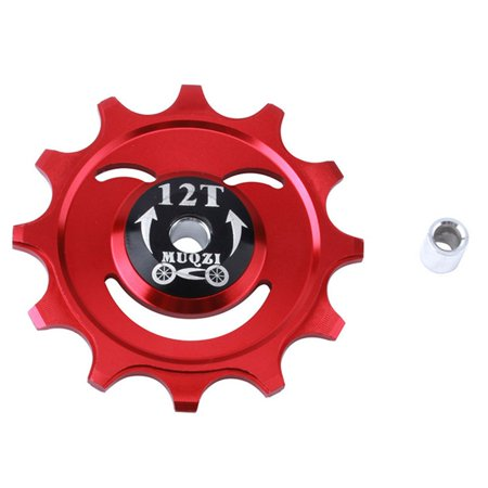 Mountain Bike Rear Dial Bearing Flywheel Aluminum Alloy Hole Guide Wheel