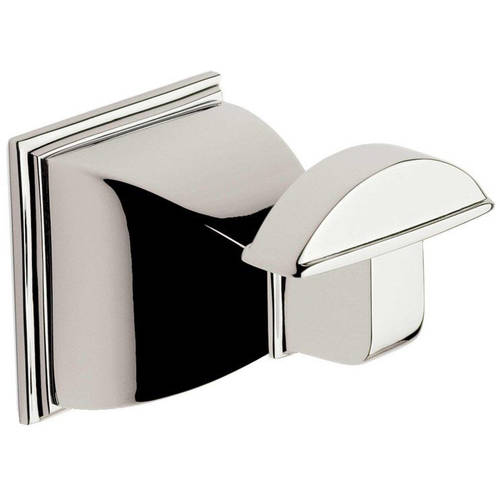 Ginger M1810 PC Quattro Robe Hook, Polished Chrome by Ginger