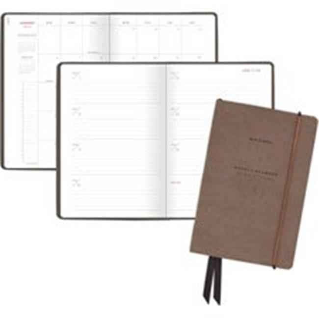 Signature Weekly & Monthly Planner, Blue - 5 x 8 in.