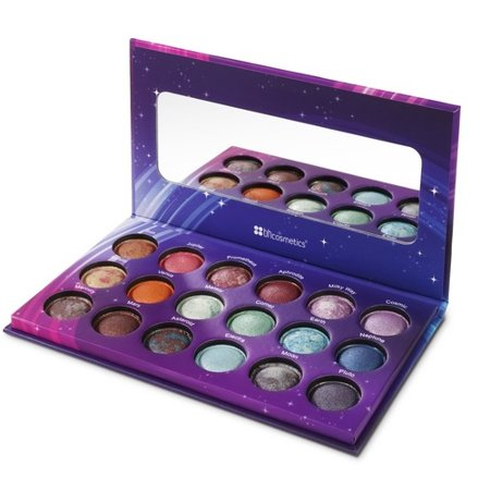 BH Cosmetics Galaxy Chic Baked Eyeshadow Palette - 18