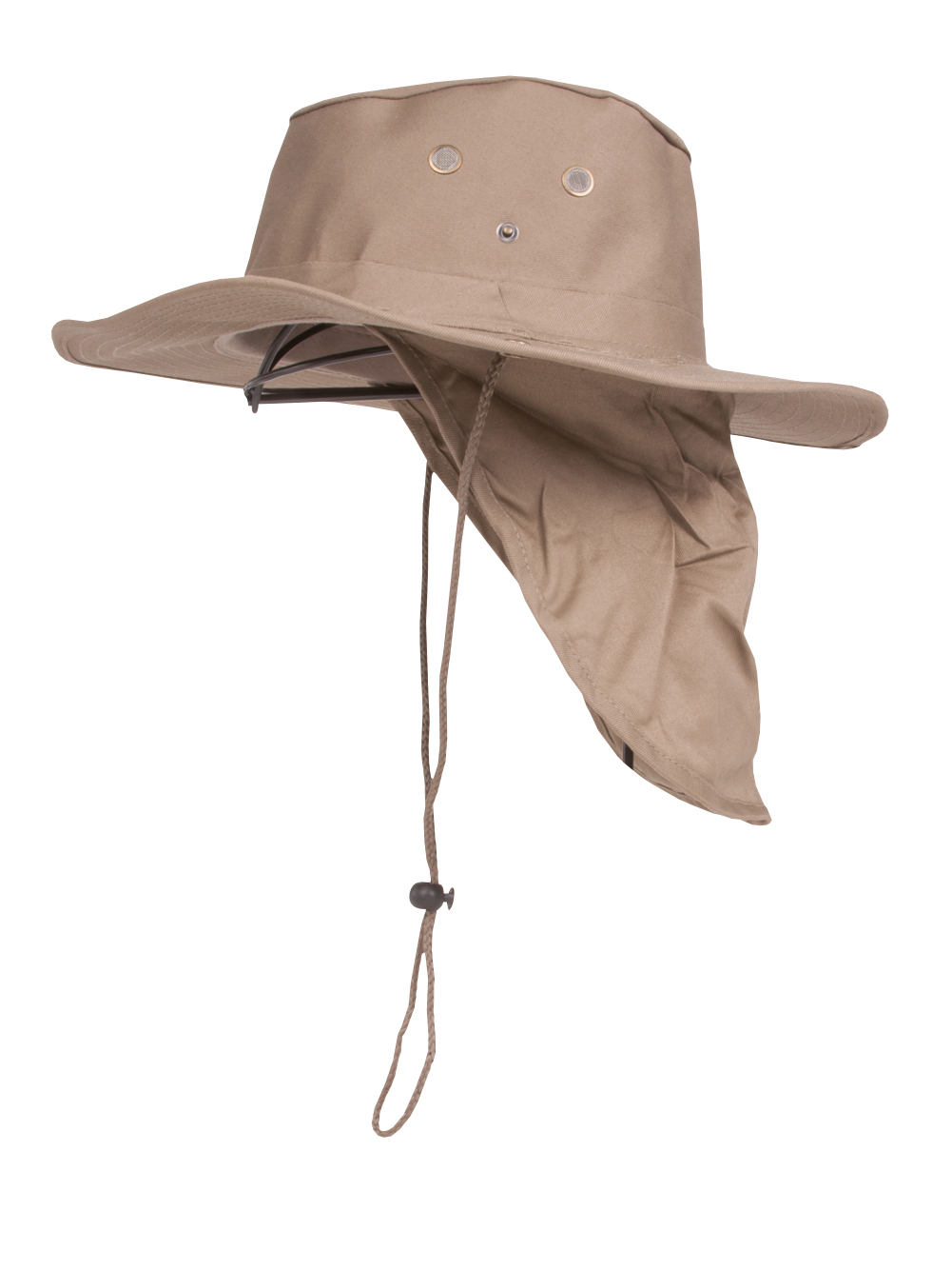 Top Headwear Safari Explorer Bucket Hat With Flap Neck Cover - Khaki -  Walmart.com 2c28ab0820f