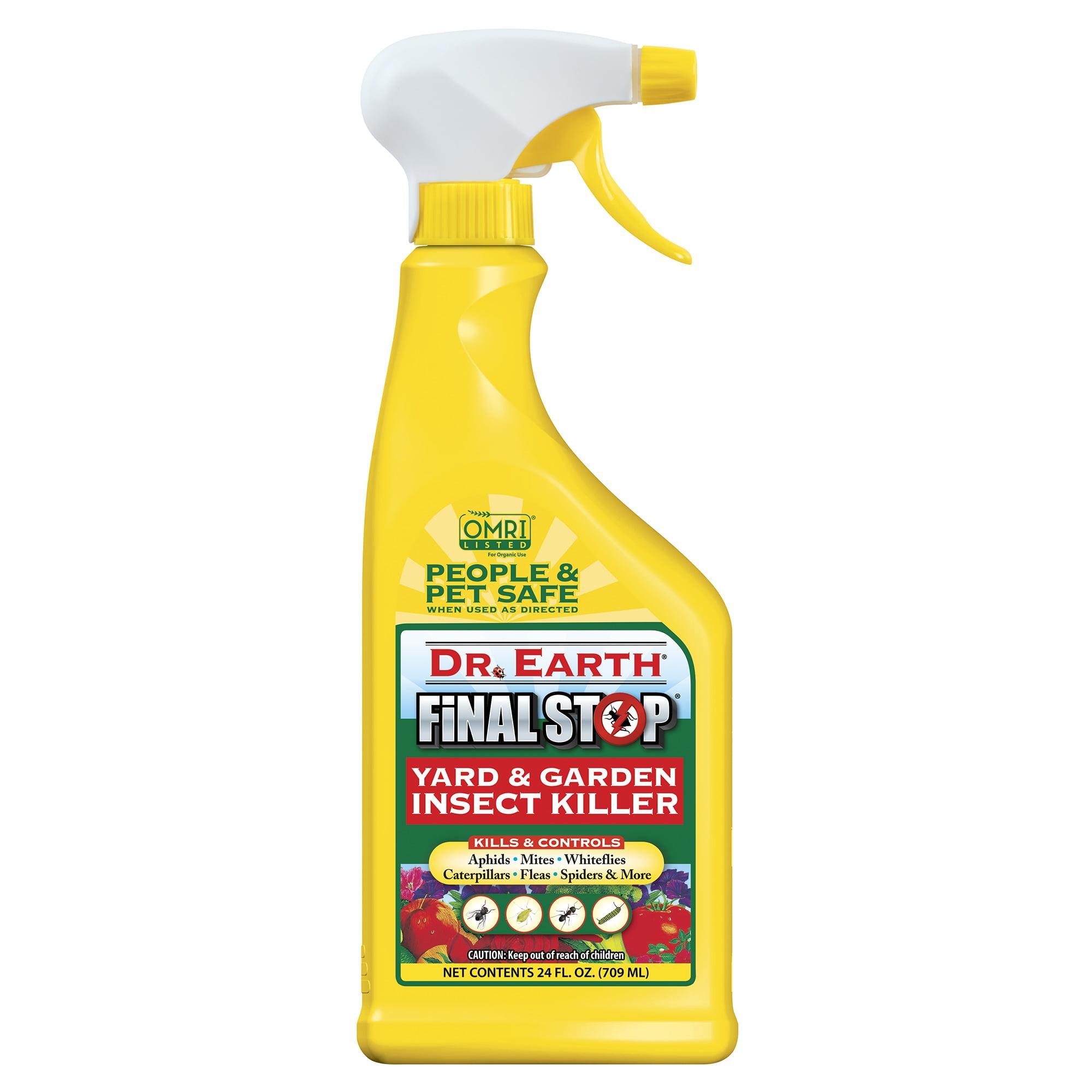 Dr. Earth Organic & Natural Final Stop Yard & Garden Insect Killer, 24 oz RTU