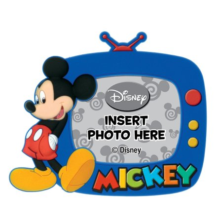 Disney's Mickey Mouse Magnetic Soft Touch Photo Frame: - Mickey Mouse Frame