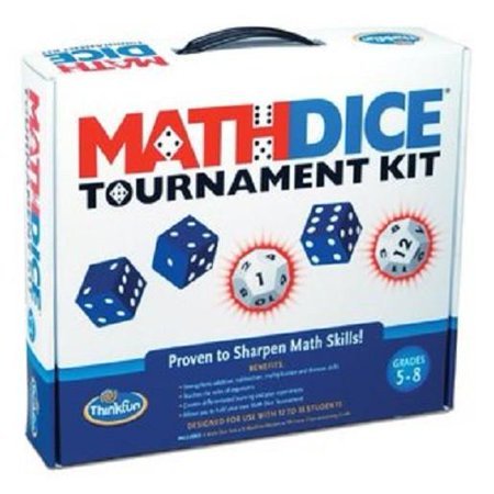 Math Dice Tournament Kit - Game - ThinkFun Toy