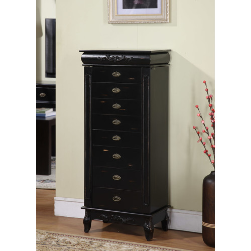 Wildon Home  Moser Jewelry Armoire with Mirror