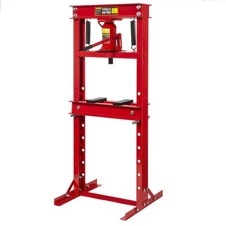 12 ton H-Frame Hydrualic Floor Press Shop Press Garage Heavy Duty Machinery