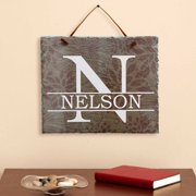Personalized Family Name Wall Slate