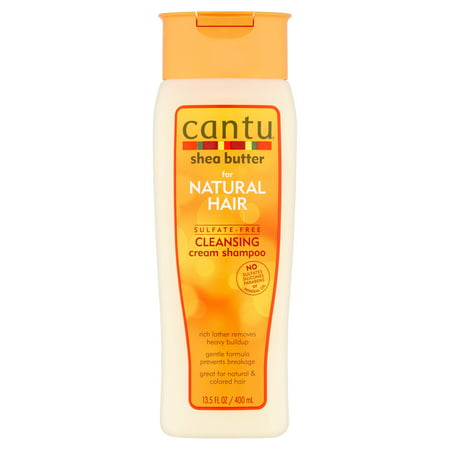 Cantu Shea Butter for Natural Hair Sulfate-Free Cleansing Cream Shampoo, 13.5 (Best Shampoo For Static Hair)