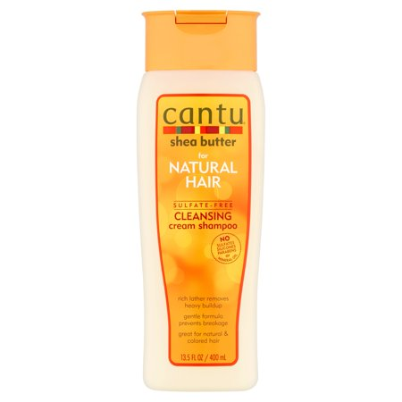 Cantu Shea Butter for Natural Hair Sulfate-Free Cleansing Cream Shampoo, 13.5 Oz ()