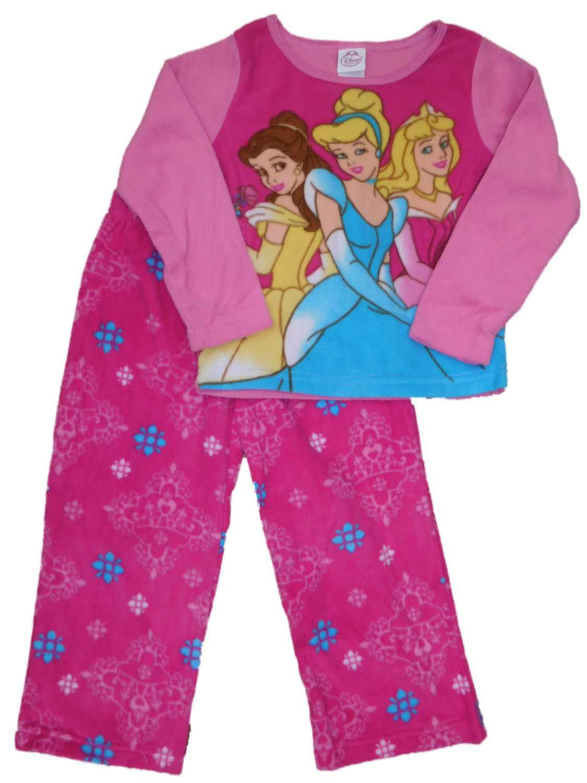 Girls Disney Princess Pyjamas Snow White Cinderella Belle Pj/'s