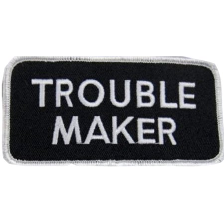 Free Name Embroidery (Trouble Maker Name Tag 2