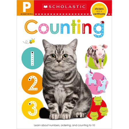 Get Ready for Pre-K Skills Workbook: Counting (Scholastic Early