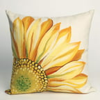 Liore Manne Sunflower Yellow Pillow Set
