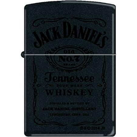 Zippo Jack Daniel's Black Matte with Black Print a MUST Have Lighter NEW Rare