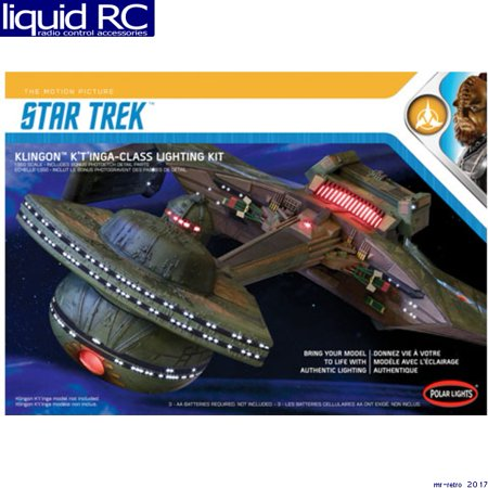 - Round 2, LLC. Polar Lights 1/350 Star Trek Klingon K't'inga Lighting Kit, PLLMKA031