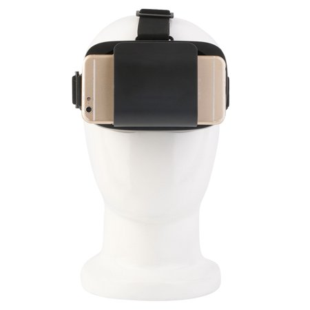 Hot Black 3D Video Glasses Universal Virtual Reality For 4 7 6  Smartphones