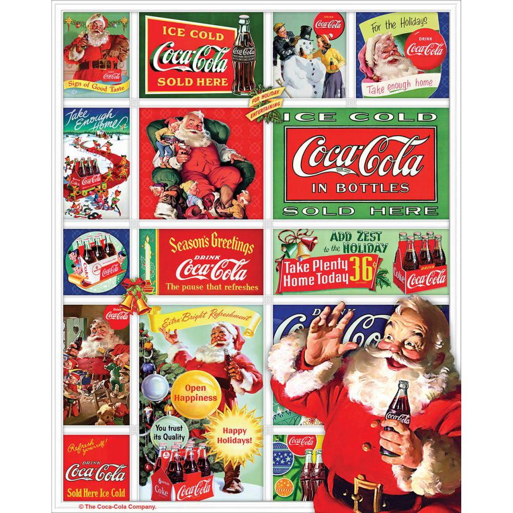 Springbok Santa's Coca-Cola Christmas 1,500-Piece Jigsaw Puzzle by Generic