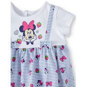 58939d6c7a7ff Disney - Minnie Mouse Jumper and Short Set, 2-Piece Set (Baby Girl ...