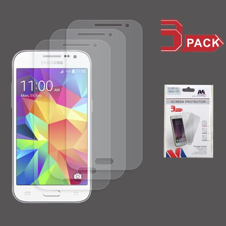 For Samsung Galaxy Core Prime/Prevail LTE/G360 Clear Screen Protector (3-pack)