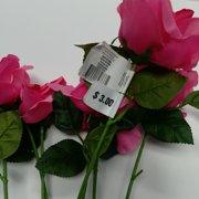 Pink Open Rose Bush, 1 Each