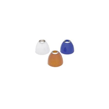 - Tech Lighting 700SDAA Amber Cone Shaped Soda Glass Shade