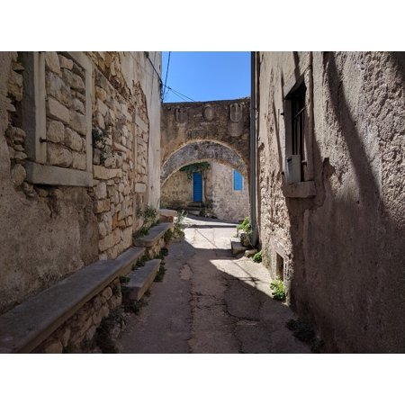 Canvas Print Country Houses City Old Town Historical Centre Stretched Canvas 10 x - Party City Town Center