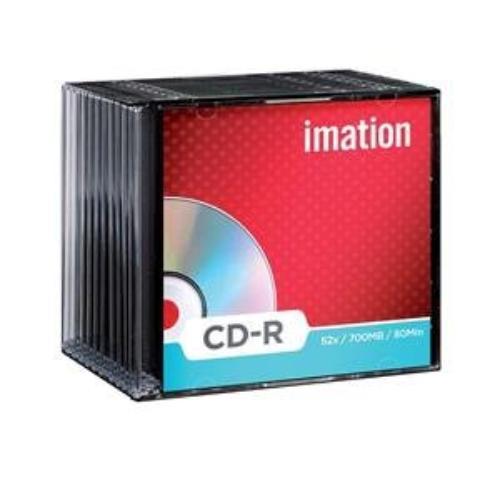 Imation Cd-r 80 Min 29908 700mb 52x White Thermal Hub Printable 100pk Cake Box
