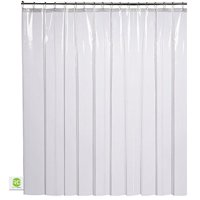 Product Image Clear Shower Curtain Mildew Resistant
