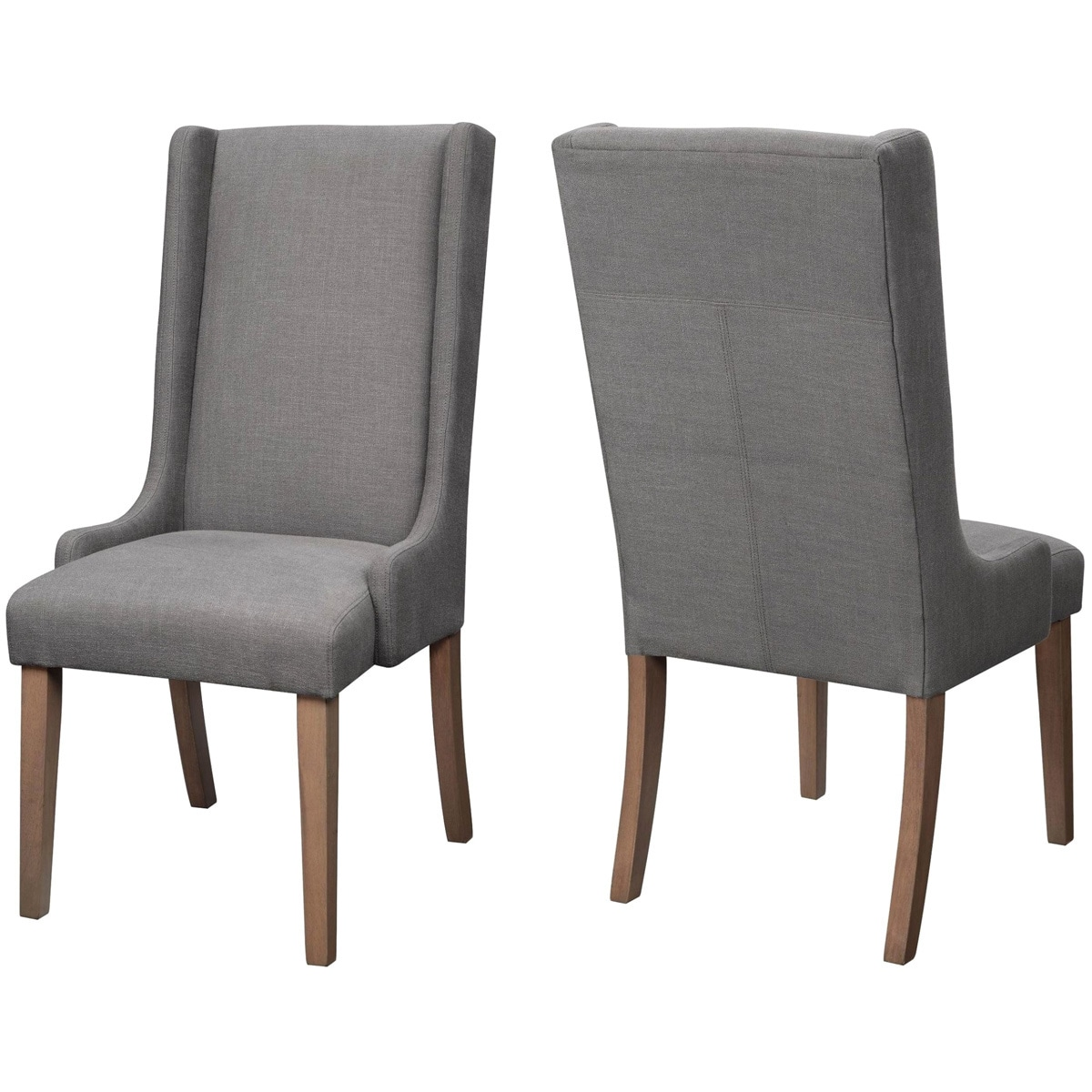 A Line Furniture Wing Back Design Dining Chairs (Set of 2)