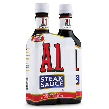 A-1 Steak Sauce (15 oz. bottle, 2 ct.) Chipotle Steak Sauce