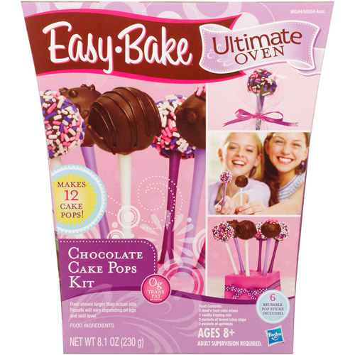 Easy-Bake Ultimate Oven Chocolate Cake Pops Kit