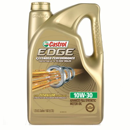 Castrol edge extended performance 10w 30 full synthetic for Castrol synthetic motor oil
