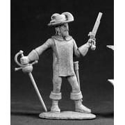Reaper Miniatures Alfonso, Musketeer #03011 Dark Heaven Legends Unpainted Metal