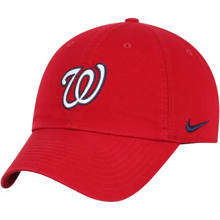 Washington Nationals Nike MLB Heritage 86 Adjustable Hat - Red - OSFA (Washington Nationals Green Hat)