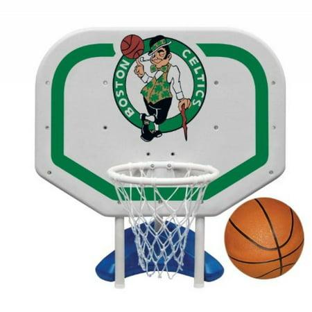 Boston Basketball (Poolmaster Boston Celtics NBA Pro Rebounder-Style Poolside Basketball Game )