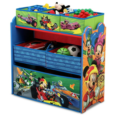 Disney Mickey Mouse Multi Bin Toy Organizer By Delta Children