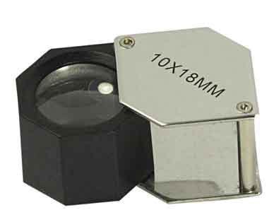 18MM Lens Chrome Hexagonal Body 10X Power