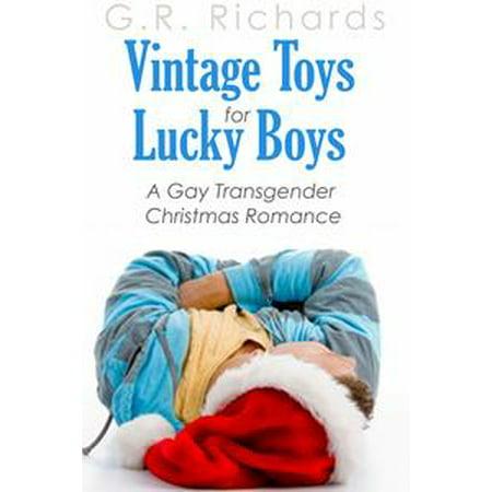 Vintage Toys for Lucky Boys: A Gay Transgender Christmas Romance - (Vintage Christmas Toys)