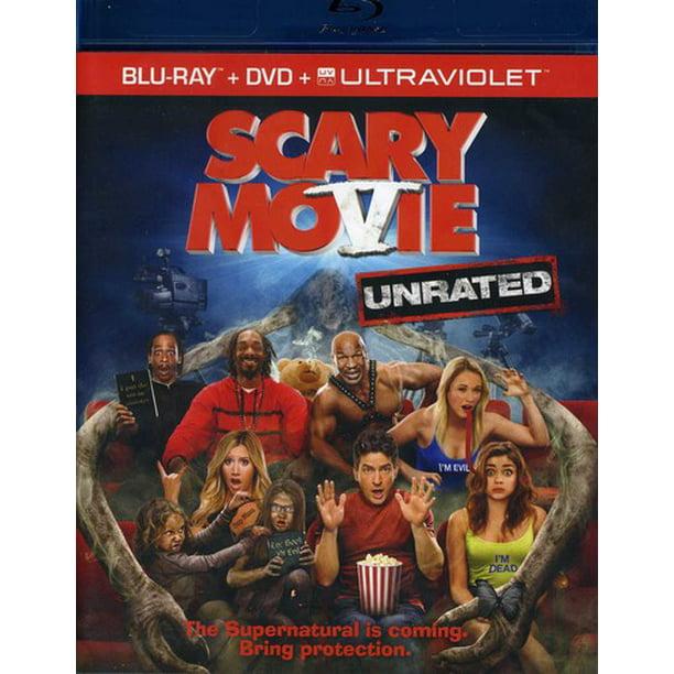 Scary Movie 5 Unrated Blu Ray Dvd Walmart Com Walmart Com