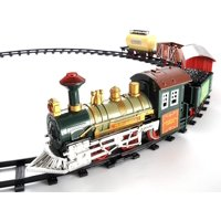 Retro Continental Express Battery Operated Toy Train Set | Train Track Car, Create your own very own elaborate track design and test it, An awesome classic detailed train set!