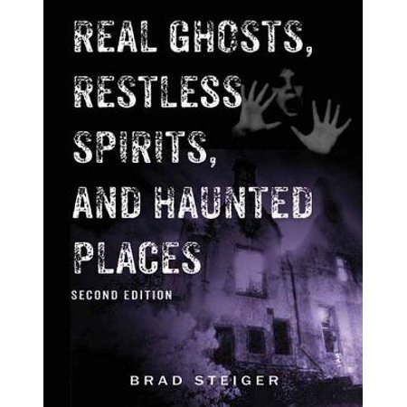 Real Ghosts, Restless Spirits, and Haunted Places - Ghost Writing Book Spirit Halloween