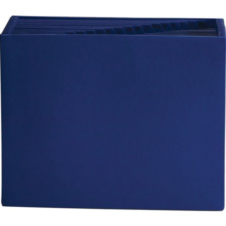 Smead, SMD70720, A-Z Indexing Colored Expanding File, 1 Each, Navy