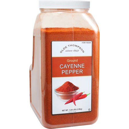Olde Thompson Ground Cayenne Pepper, 5.25 lbs