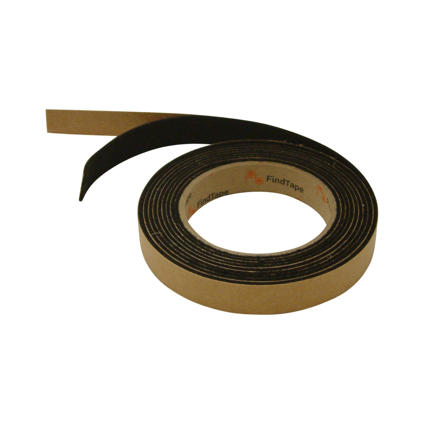 JVCC FELT-065 Polyester Felt Tape: 3/4 in. x 10 ft. (Black)
