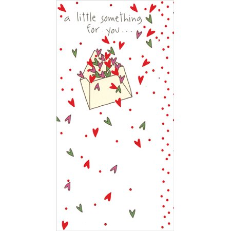 Recycled Paper Greetings A Little Something Money Holder Christmas Card